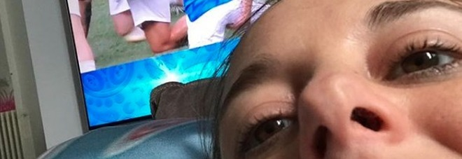 Nadia Toffa, selfie