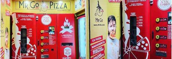 Roma, arriva la pizza cotta dal distributore automatico e pronta in tre minuti