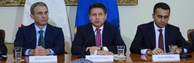 Rifiuti, firmato il protocollo d'intesa ma Salvini diserta la conferenza