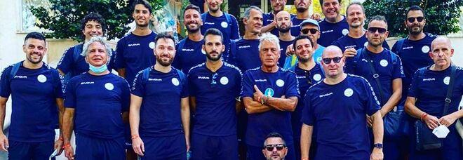 I campioni di Napoli e l'Avellino al campionato italiano medici