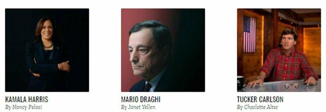 Mario Draghi tra i top 100 di Time: è l'unico italiano