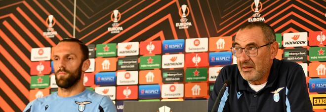Lazio-Galatasaray, Sarri: «Sto valutando Muriqi titolare. Dopo il Milan dobbiamo dare risposte a noi stessi»