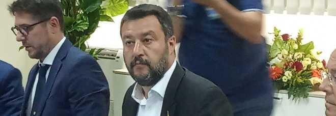 Salvini a Castel Volturno