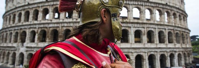 Centurione al Colosseo