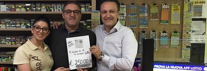 Vince 250mila euro al 10eLotto