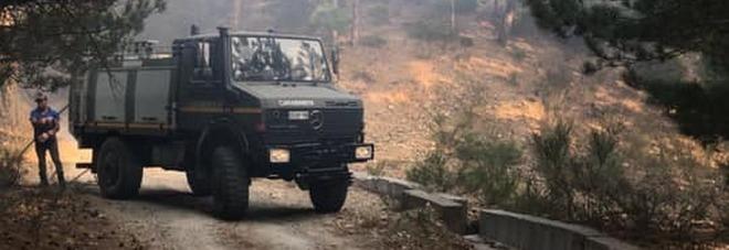 Incendi: firmato il Dpcm per mobilitare la Protezione civile in Calabria