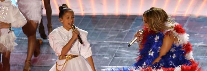 Jennifer Lopez con la figlia Emme