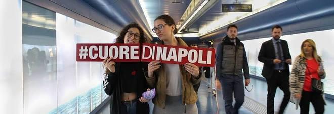 #CuorediNapoli, tour e performance nella metro Toledo