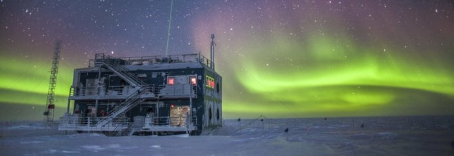 Il South Pole Atmospheric Research Observatory in Antartide