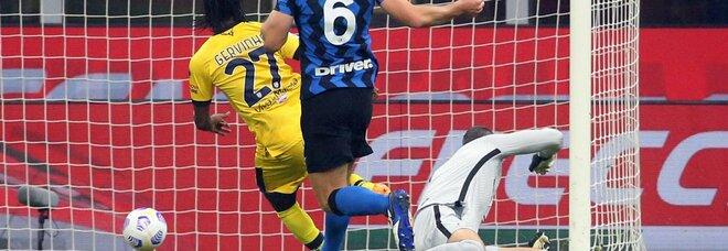 Inter-Parma 2-2 senza Lukaku: Perisic salva Conte al fotofinish