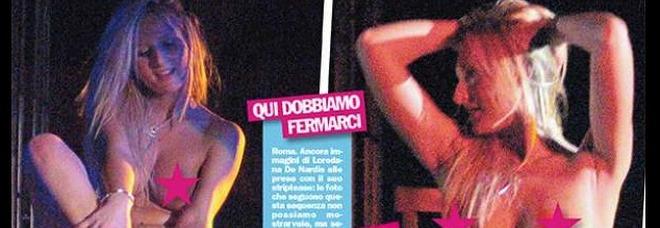 Loredana De Nardis, le foto hot da spogliarellista della ex di Massimo Boldi