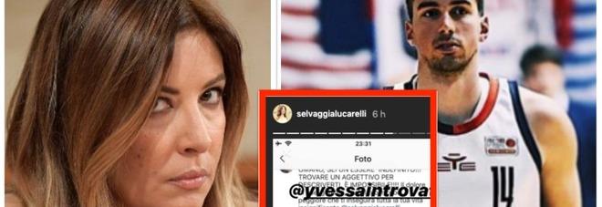 Insulta Selvaggia Lucarelli: «Tr**a infame». Cestista di A2 sospeso e multato, poi chiede scusa