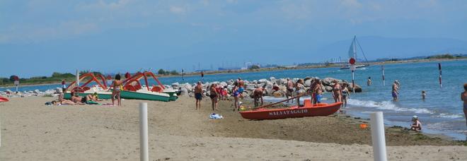 La spiaggia di Lignano