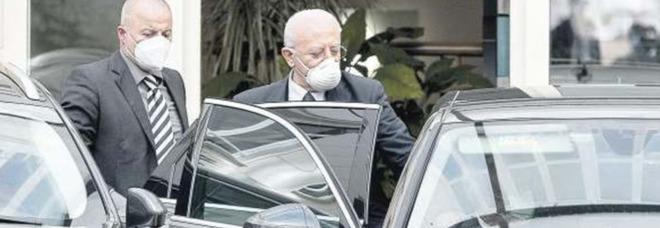 De Luca indagato dalla Corte dei Conti: 4.000 euro al mese per l'autista di fiducia