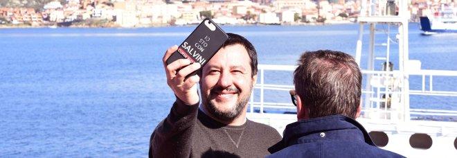 Salvini in Sardegna per la campagna elettorale