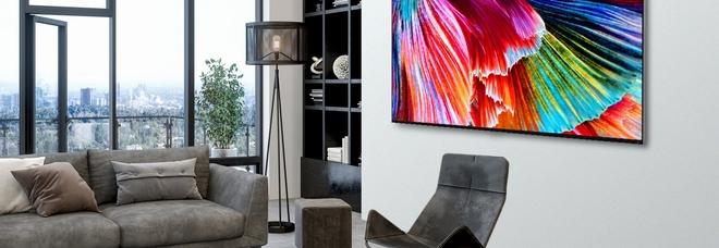 Arrivano anche in Italia i televisori Qned Mini Led di LG, l'ultima frontiera della tecnologia Led