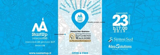 NAStartUpDay, 5 anni: evento a San Lorenzo Maggiore