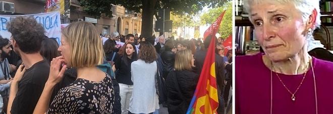 Salvini: «La prof sospesa torni a scuola». Centinaia in corteo a Palermo