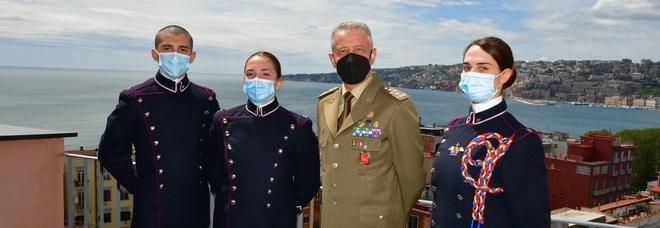 Napoli, il Capo di Stato Maggiore dell'Esercito alla Scuola Militare Nunziatella