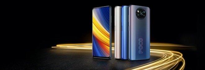F3 e X3 Pro, i due nuovi flagship di Poco con design e colori accattivanti