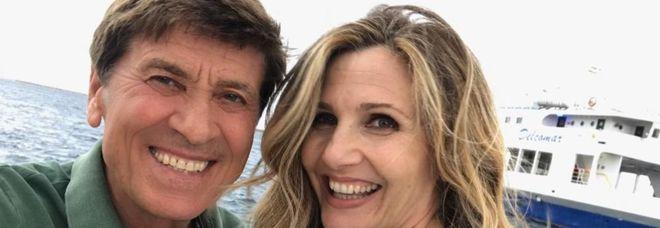 Gianni Morandi e Lorella Cuccarini