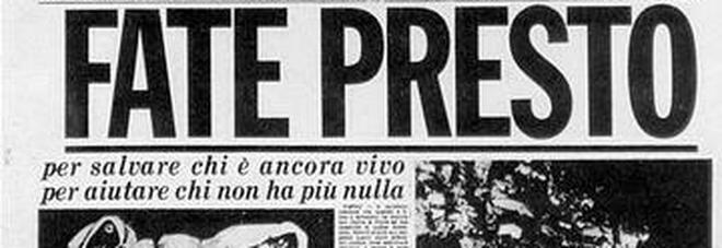 Terremoto 40 anni dopo: lunedì 23 novembre gratis in edicola lo speciale de Il Mattino sul sisma dell'Irpinia