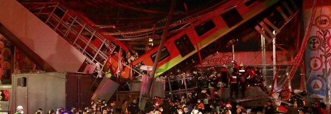 Città del Messico, la metro crolla sulla strada: 13 morti e almeno 70 feriti