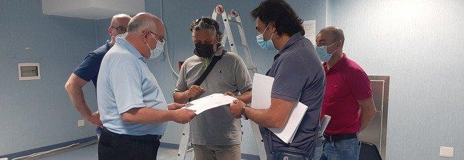 Covid, inaugurato a Mercogliano il laboratorio di ricerca dell'istituto Pascale