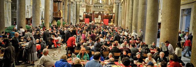 Dieci Pranzi E 1 200 Poveri A Tavola Il Natale Di Solidarieta A