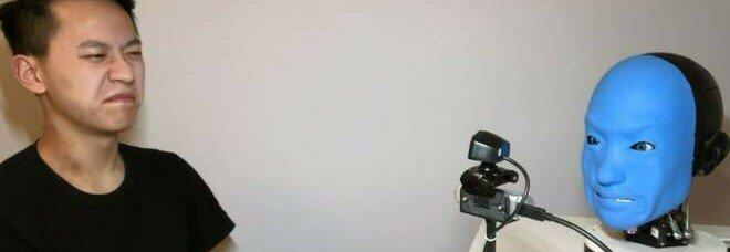 Eva, il robot empatico: riconosce le emozioni degli umani e le imita