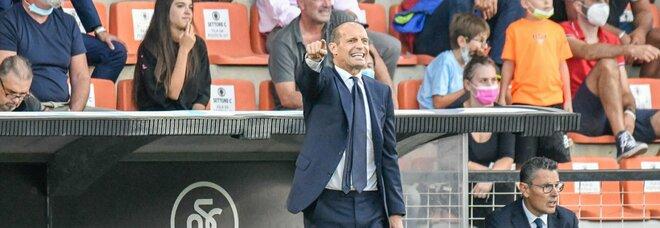 Juventus, Allegri: «Mi mancavano le critiche, mi divertono un sacco. In porta contro la Samp gioca Perin»