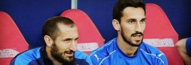Astori, il fratello e la dedica di Chiellini: «Grazie a tutti, Davide ha corso con gli azzurri»
