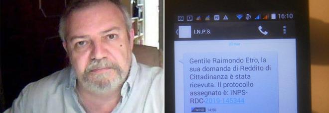 Reddito di cittadinanza, tra i beneficiari anche l'ex Br Raimondo Etro: «Pensavo di non averne diritto ma ne ho bisogno»
