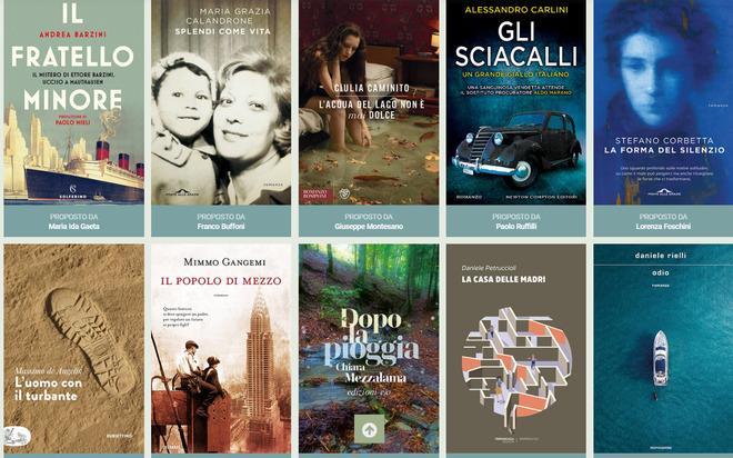 Premio Strega, con Barzini, Calandrone e Caminito già 25 i romanzi candidati