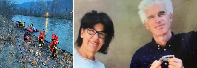 Coppia scomparsa, ucciso prima il marito? Vane le ricerche del corpo di Peter nell'Adige