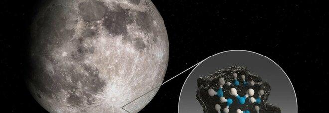 Scoperta acqua sulla Luna: è in un cratere accessibile