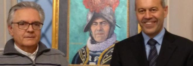 Un ritratto «stabiese» per il comandante delle guardie svizzere