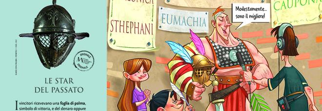 «Gladiatori» per ragazzi, fumetti e quiz aspettando la mostra al Mann