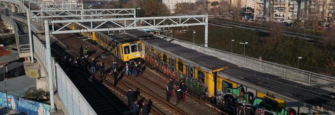 Scontro tra treni Metro a Napoli, la Procura dissequestra il binario dell'incidente
