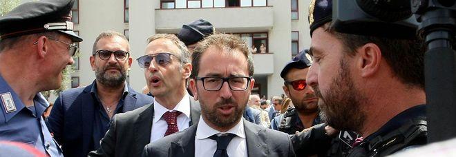 Il ministro Bonafede a Bari