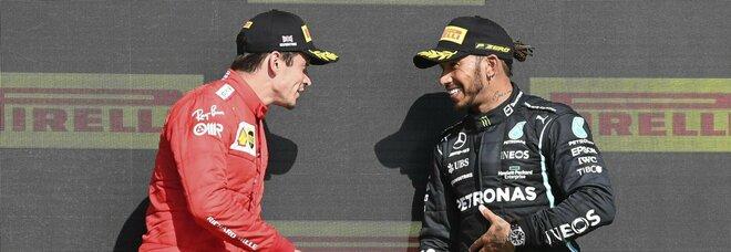 F1, GP Silverstone: trionfo di Hamilton, prova super di Leclerc e della Ferrari