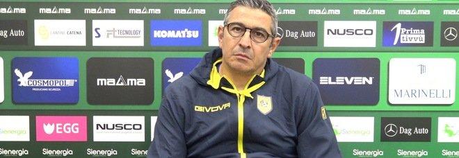 Juve Stabia, Padalino assolve la squadra dopo il Bari e guarda già al Palermo