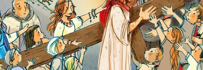 La Via Crucis del Papa e dei bambini schiacciati dalla Dad, la grande solitudine portata dal covid