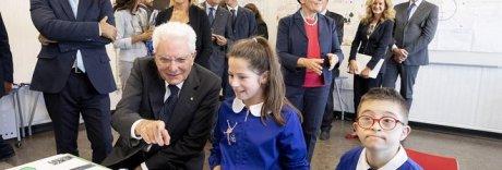 Tutti in classe, Mattarella inaugura il nuovo anno scolastico