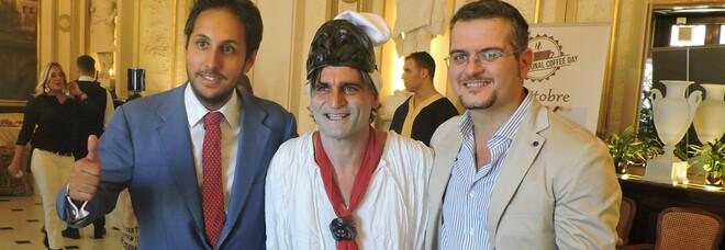 Napoli, al Gambrinus con Angelo Iannelli si parla di pandemia con ospiti illustri