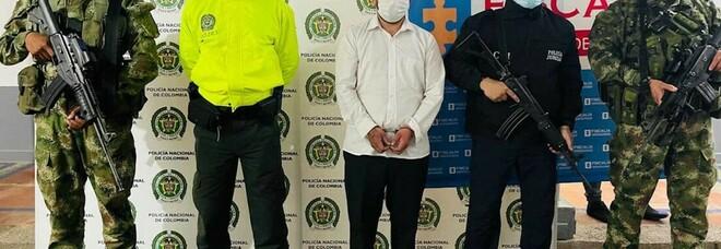 Arrestato pochi minuti prima del suo matrimonio il membro di un gruppo criminale colombiano
