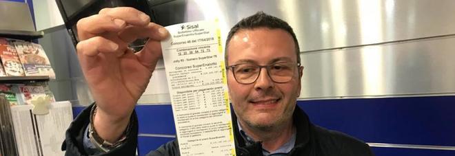Superenalotto, ritirata la vincita record: incassati 130,2 milioni di euro