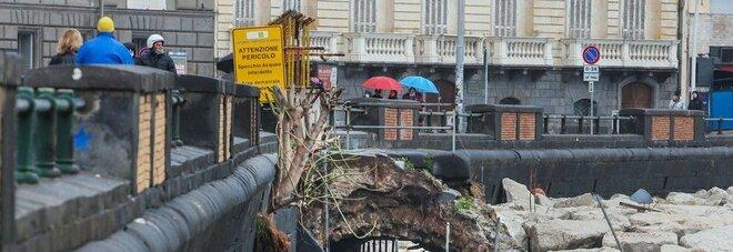 Lungomare di Napoli, c'è l'ok della sovrintendenza: «I lavori partano subito»