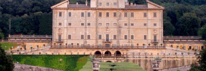 Frascati, esterno di Villa Aldobrandini
