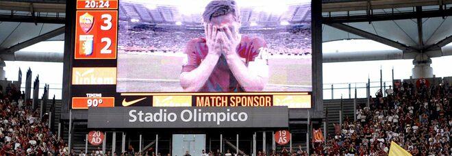Roma, Totti ricorda l'addio al calcio: «Un giorno indimenticabile»